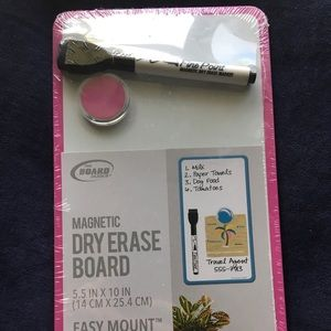 Other - NEW Magnetic Dry Erase Board